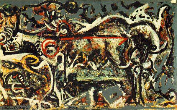 La loba, Pollock