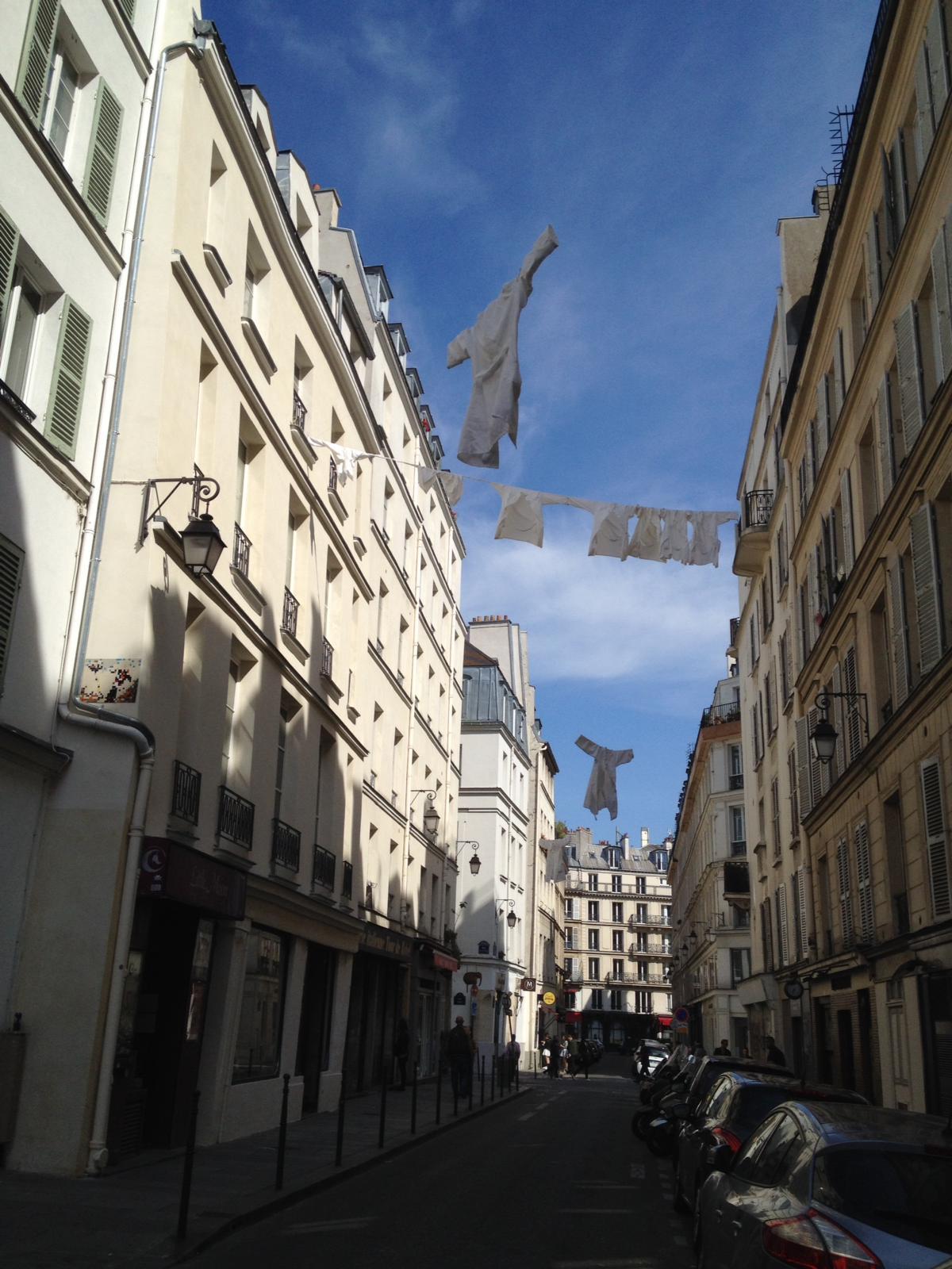 Rue de Roi de Sicile, Paris. Foto: Luc Teisseire, 2020