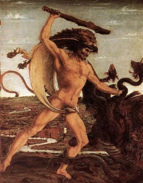 Imagem: Ercole e L'idra, Antonio del Pollaiolo. Fonte: wikipedia